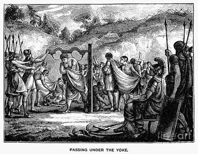 Passing Under The Yoke Print by Granger