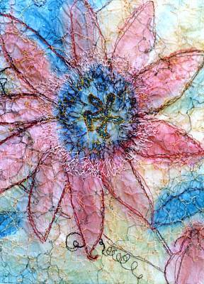 Passion Fruit Mixed Media - Passion Flower by Anita Bell