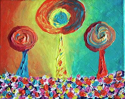 Painting - Passion Fuitpop by April Harker