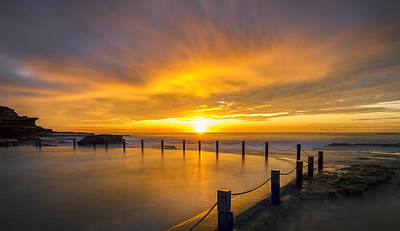 Maroubra Photograph - Passion In The Sky by Mark Lucey