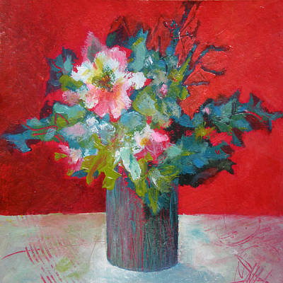Painting - Passion Posy by Susanne Clark