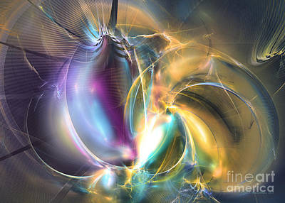 Digital Art - Passionate - Abstract Art by Sipo Liimatainen