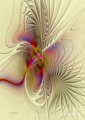 Sensual Digital Art - Passions And Desires by Deborah Benoit