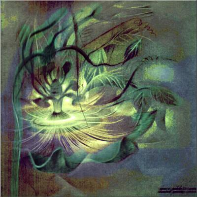 Pastel - Passionsblume 1982 by Glenn Bautista
