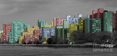 Photograph - Pastel City by Deborah Smith
