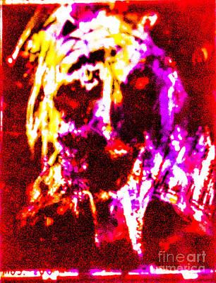Pastel Man 38 Art Print