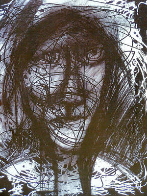 Pastel Man 4 Art Print