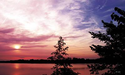 Photograph - Pastel Pink Sunset by Ms Judi