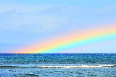 Photograph - Pastel Rainbow by Richard Omura