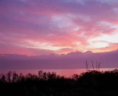 Photograph - Pastel Sunrise by Judy Wanamaker