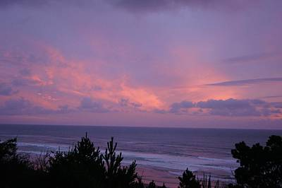 Photograph - Pastel Sunset by Angi Parks