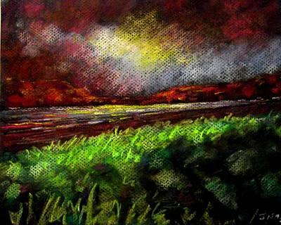 Pastel Sunset Print by John  Nolan