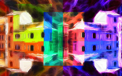 Pastel Windows Art Print by Steve K