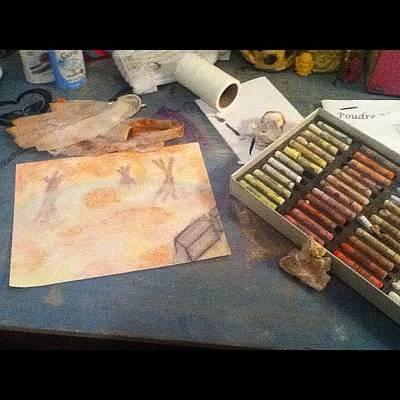 Pastels Photograph - 😲pastels Are Sooooo Messy #pastels by Hannah Karg