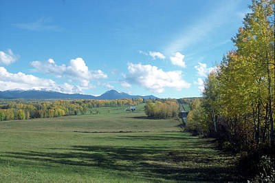 Photograph - Pastoral Babine Range Panorama by Jan Piet