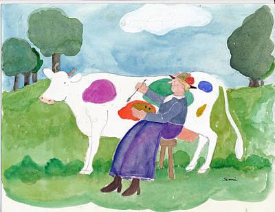 Painting - Pastorale by Simi Berman