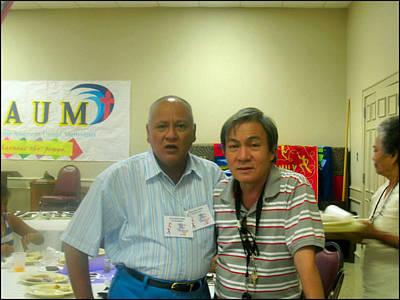 Photograph - Pastorb And Glenn by Glenn Bautista