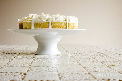 Photograph - Pastry On Cake Stand by Igor Kislev