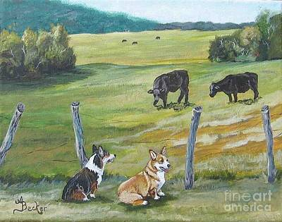 Painting - Pasture Pals by Ann Becker