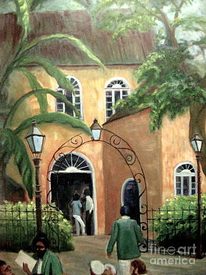 Painting - Pat O Brians 2 by Gretchen Allen
