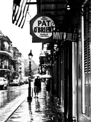 Pat Obriens Rainy Afternoon Art Print