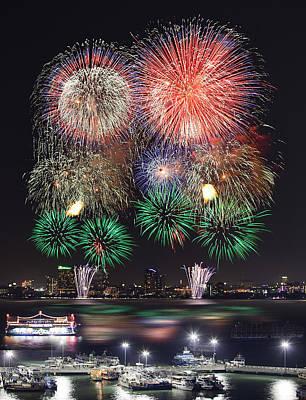 Pataya City Firework Festival Original by Anek Suwannaphoom