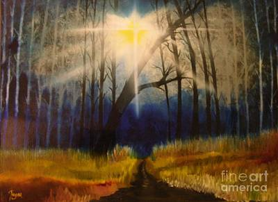 Painting - Path Of The Righteous by Barbara Hayes