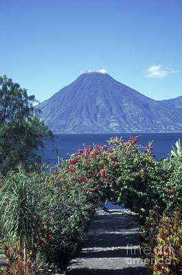 Photograph - Path To Lake Atitlan Guatemala by John  Mitchell
