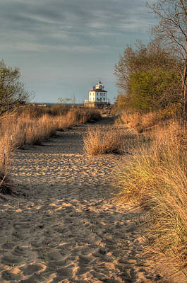 Path To The Light Art Print by At Lands End Photography