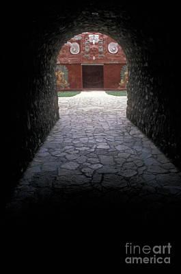 Photograph - Path To The Underworld Copan Honduras by John  Mitchell
