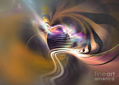 Digital Art - Pathfinder by Sipo Liimatainen