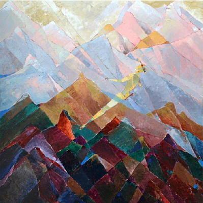 Painting - Pathfinder  by Yogendra  Sethi