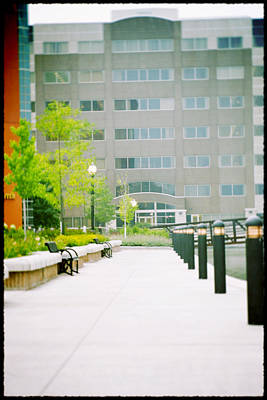 Photograph - Pathway Behind Neenah One Center by Joel Witmeyer