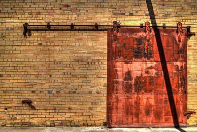 Photograph - Patient Door by David Morefield