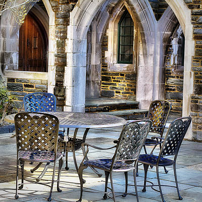 Photograph - Patio Dining by Trudy Wilkerson