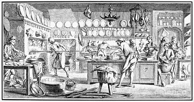 Patisserie, 18th Century Art Print