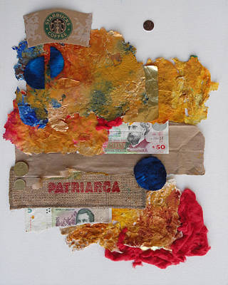 Crisis Mixed Media - Patriarca by Nora Meyer