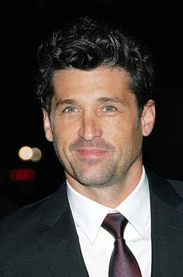 Patrick Dempsey At Arrivals For Avon Art Print by Everett