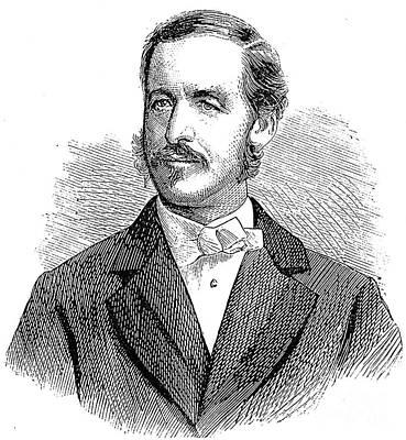 Patrick Sarsfield Gilmore (1829-1892). American (irish-born) Bandmaster And Composer. Wood Engraving, American, 1869 Art Print
