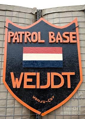 Patrol Base Weijdt Art Print by Unknown