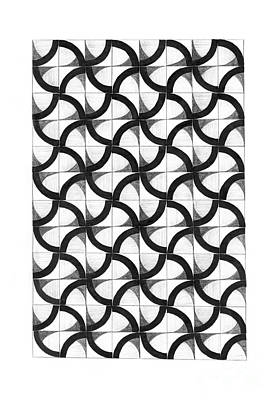Hand Made Drawing - Patterns by Gabriela Insuratelu