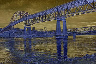 Photograph - Pattullo Bridge by Barbara  White