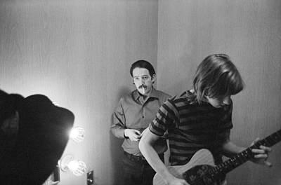Paul Butterfield And Buzzy Feiten Fillmore East 1968 Art Print