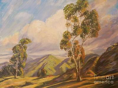 Paul Grimm California Impressionism Art Print by Sunanda Chatterjee