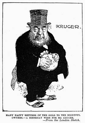 Paul Kruger (1825-1904) Art Print by Granger