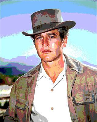 Paul Newman Art Print
