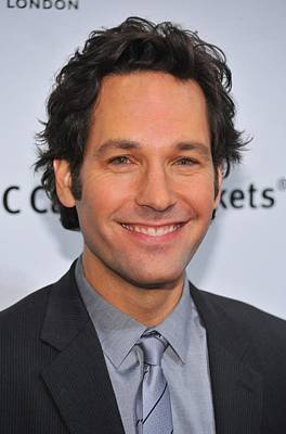 Cipriani Restaurant Wall Street Photograph - Paul Rudd At Arrivals For Ifps 20th by Everett