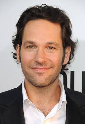 Paul Rudd At Arrivals For Our Idiot Art Print