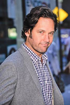 Paul Rudd, Leaves The Today Show Taping Art Print by Everett