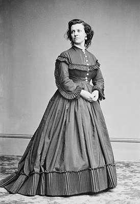 Pauline Cushman 1833-1893, Union Spy Art Print